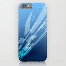 Abstract blue Slim Case iPhone 6s