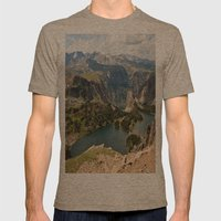 Beartooth Pass Lookout Mens Fitted Tee Tri-Coffee SMALL