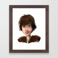 A Little Hiccup Goes A L… Framed Art Print
