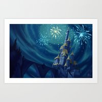 Portrait of a Kingdom: Beast's Castle  Art Print