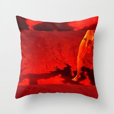 Jump into it Throw Pillow