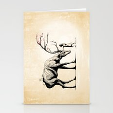 Knowing the Deer Tree Stationery Cards