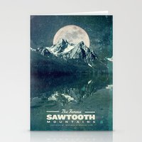 Sawtooths: Stanley Lake Stationery Cards