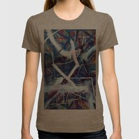 New (no Name Yet) Womens Fitted Tee Tri-Coffee SMALL