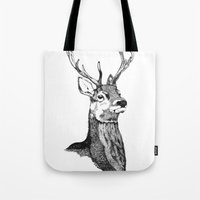 Noble Stag Tote Bag