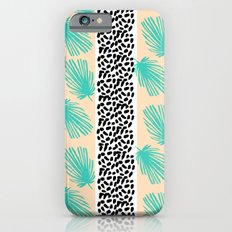 Palm Leaf Abstract Slim Case iPhone 6s