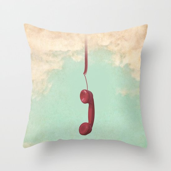 Call from Above Throw Pillow