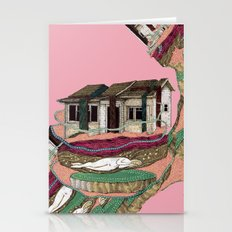 house and... Stationery Cards