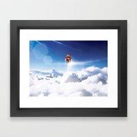 Super Bears - ACTION! Th… Framed Art Print