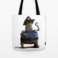 Iso, the Fat Captain Tote Bag