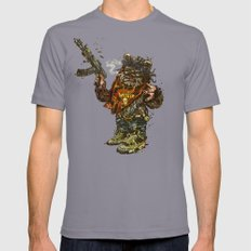 Gwok Mens Fitted Tee Slate SMALL