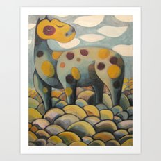 Tribute to Crazy Horse Art Print