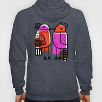 BIRDS AND BOOTS Hoody