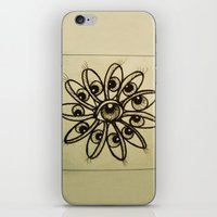 Eye Flower iPhone & iPod Skin