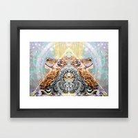 I and I - Rise Framed Art Print