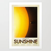 sunshine Art Prints featuring Sunshine by Victor Vercesi