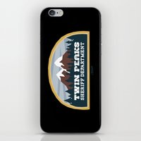 Twin Peaks Sheriff Depar… iPhone & iPod Skin