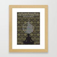 The Doors of Perception Framed Art Print