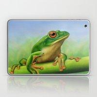 Moltrecht's Green Treefrog Laptop & iPad Skin