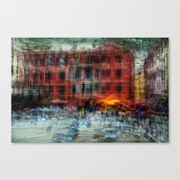 All About Italy. Piece 18 - Vernazza Spirit Canvas Print