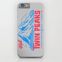 Visit Twin Peaks (hot pink) iPhone 6 Slim Case