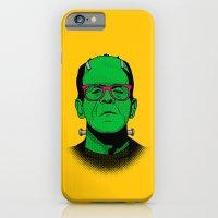 iPhone & iPod Case featuring Lichtenstein's Monster by John Tibbott