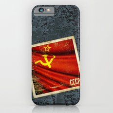 Sticker of Soviet Union (1922-1991) flag Slim Case iPhone 6s