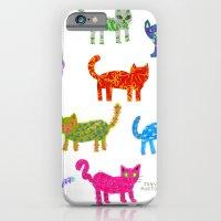Cat Pattern iPhone 6 Slim Case