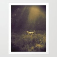 Pale Horse 1 Art Print