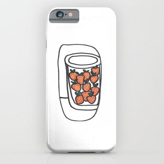 Strawberries iPhone & iPod Case