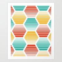 Honey Jive - Summerlicio… Art Print