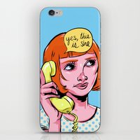Yes, this is she iPhone & iPod Skin