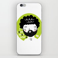 I Love Your Beard iPhone & iPod Skin