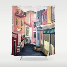 Villas Shower Curtain