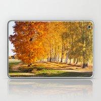 Gold Autumn Laptop & iPad Skin