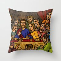 JC: The Last Supper Throw Pillow