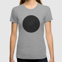 Metricorn Womens Fitted Tee Tri-Grey SMALL
