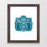 I Still Shoot Film Camera Logo Framed Art Print