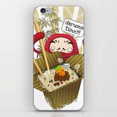 Daruma Time!!! iPhone & iPod Skin