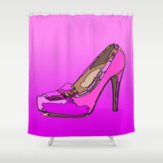 Weekend in pink Shower Curtain