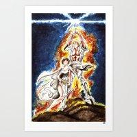 STAR WARS: A New Hope Wa… Art Print