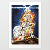 STAR WARS: A New Hope Watercolor Art Print