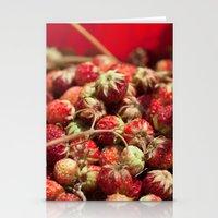 Wild Strawberries  4119 Stationery Cards