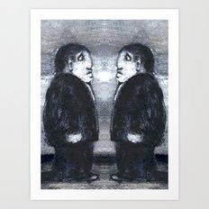 DOPPELGANGER Art Print