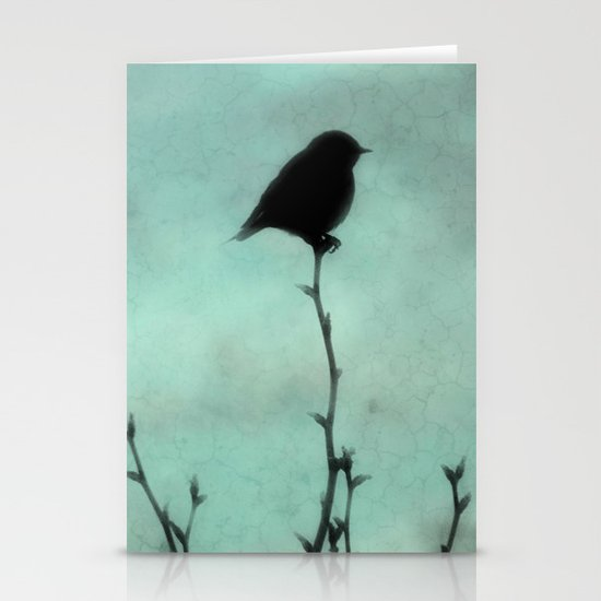 On Top of the World Stationery Card