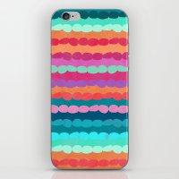 Brite Stripe iPhone & iPod Skin