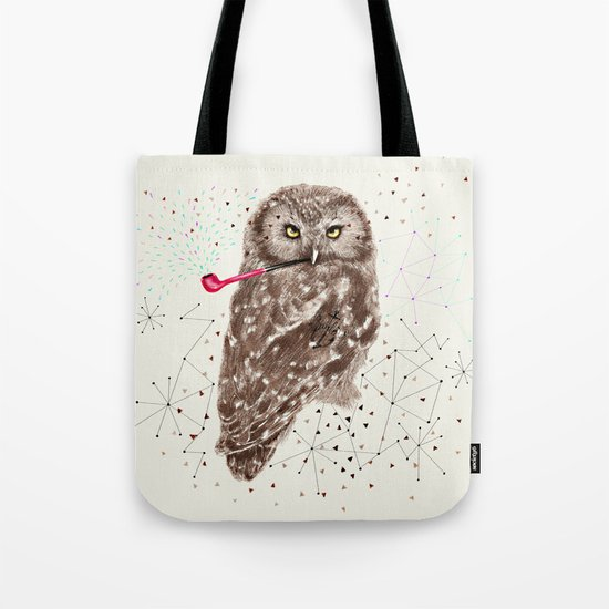 Mr.Owl III Tote Bag