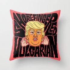 Short-Fingered Vulgarian Throw Pillow
