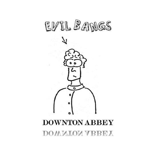 Evil Bangs Art Print