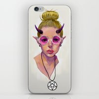 Monster Girl #3 iPhone & iPod Skin